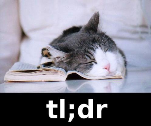 tl-dr